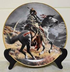 Native American Indian Plates, Heritage Museum Ltd Editions Nollamara Stirling Area Preview
