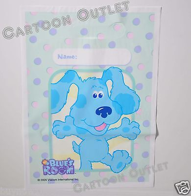 8 PC BLUES CLUES BIRTHDAY PARTY FAVORS GIFT BAGS TREAT LOOT CANDY BAGS SACS NICK ()