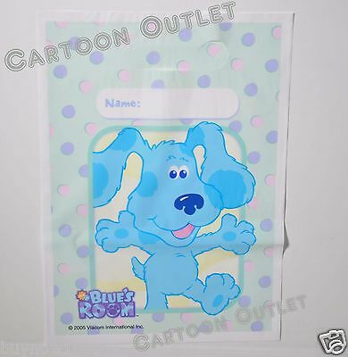 24 PCS BLUES CLUES BIRTHDAY PARTY FAVORS GIFT BAGS TREAT LOOT CANDY BAGS SACS  ()