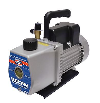 Uniweld U5vp2 115220-v 2-stager 5.5 Cfm Vacuum Pump - Easy To Carry