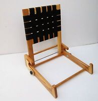 Folding Back Rest - Web / Ash Clips To Canoe Seat Endless River - endless river - ebay.co.uk