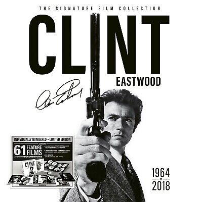 Clint Eastwood: The Signature Film Collection [Blu-ray+DVD] [Region B/2] NEW