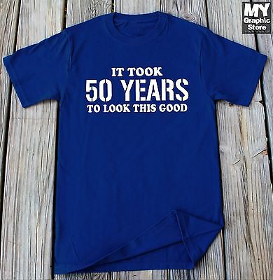 50th Birthday Shirt Gift For 50th Birthday Party Shirt 50 Years old Bday gift  (50th Bday)