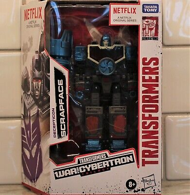 Transformers WFC Decepticon SCRAPFACE, Netflix Animated Deluxe Class, MISB 2020