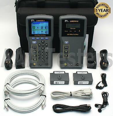Ideal Lantek 6 Cat5e Cat6 Cable Tester Certfier Lantek6