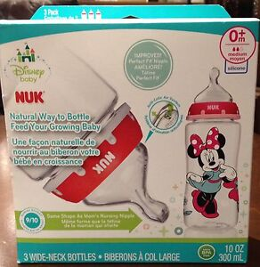 Brand New NUK Minnie Mouse Bottles