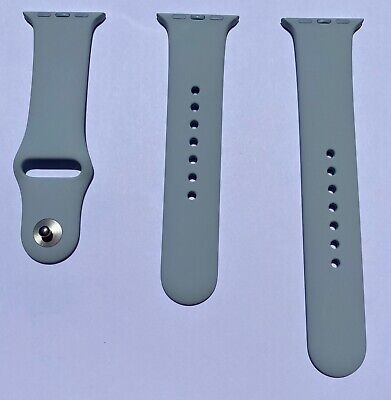 Apple Watch Mist Blue Sport Band Series 0 1 2 3 38mm 4 & 5 40mm Genuine OEM 2017