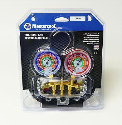 59236 Mastercool Ac Hvac Refrigeration Manifold W 36 Ball Hoses R410a R404a