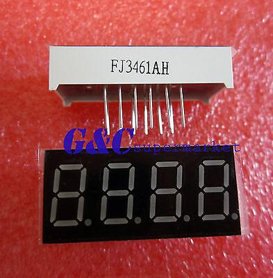 2pcs 0.36 4 Digit Led Display 7 Seg Segment Common Cathode Red Good Quality