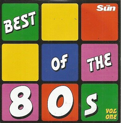 BEST OF THE 80's ~ DISC 1 OF 3 - VARIOUS ARTISTS - SUN PROMO MUSIC CD