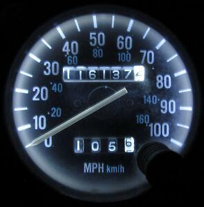 jeep yj speedometer jeep wrangler yj 1987 1995 white led speedometer gauge cluster dash led kit