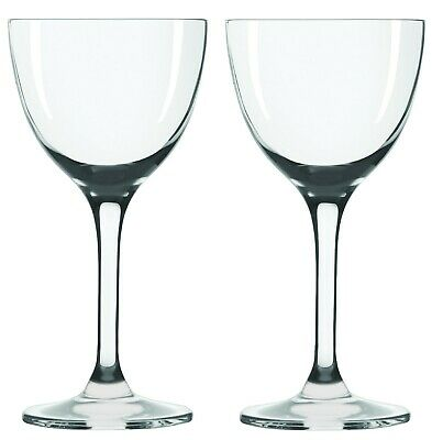 Nick & Nora Cocktail Glasses - Set of 2 (5oz) Small Plain Vintage Coupe Glass ()
