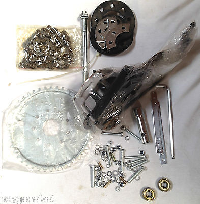 49cc 4-stroke gas motor bike rear wheel side mount parts kit