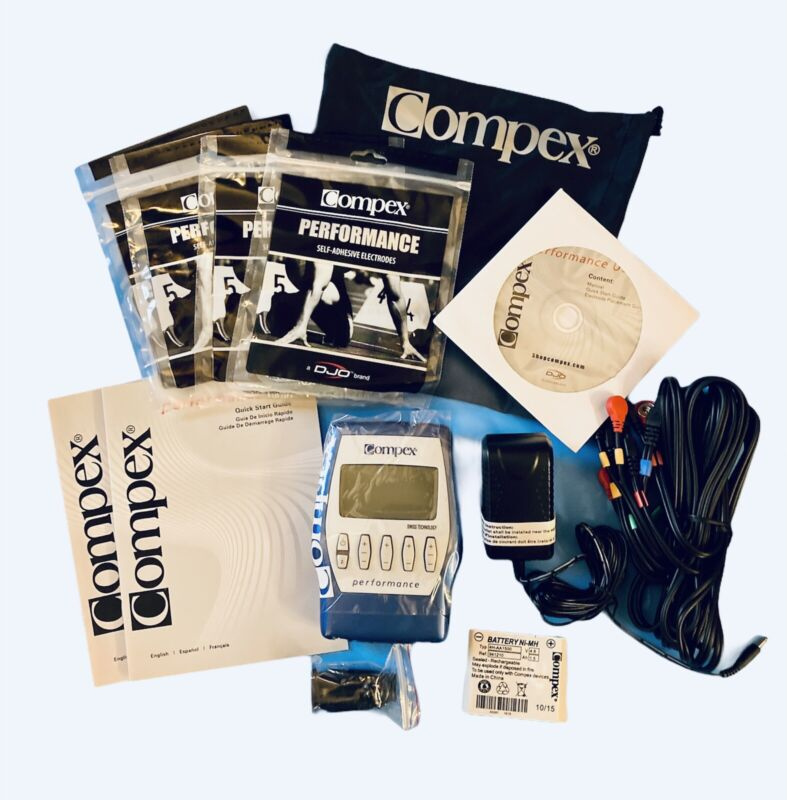 Compex Performance US Electrical Muscle Stimulator Kit Free Shipping
