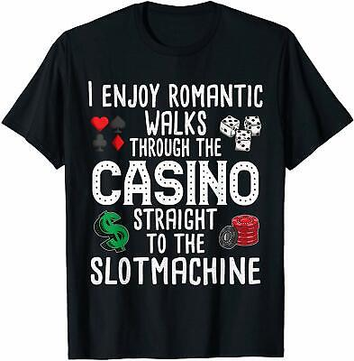Casino Birthday Ideas (Funny Slot Machine Gambling Casino Gambler Vegas Gift Idea T-Shirt Birthday)