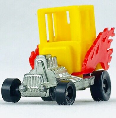 Vintage 1972 Mattel Hot Wheels Zowee Light My Fire Hot Rod Car