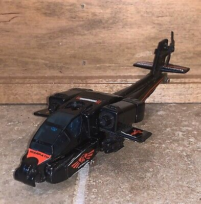 1985 Warpath Helicopter Transformer Bandai Gobots Original Apache Copter Vintage