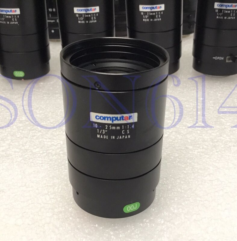 "1x COMPUTAR Lens 10-25mm 1/3"" CS 1:1.4 For CCTV Security Surveillance Camera"