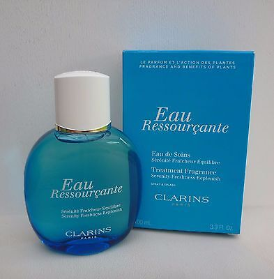 CLARINS Eau Ressourcante Eau de Soins Treatment Spray Fragrance, 100ml, BNIB