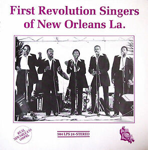 First-Revolution-Singers-of-New-Orleans-La-504-Sealed-LP