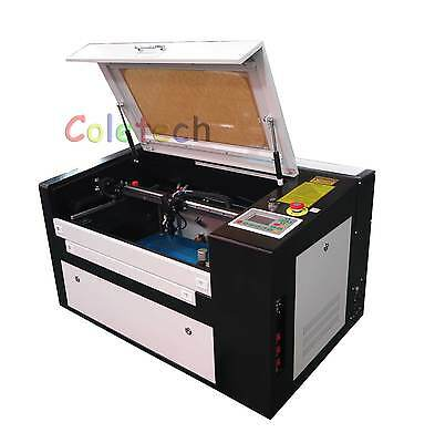 60w Co2 Laser Engraver Inc Rotary By Air Express 5-7days Delivery Factory Outlet