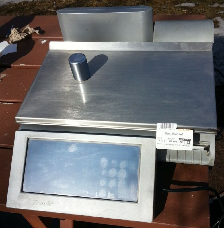 Mettler Toledo UC-ST Smart Touch Programmable Scale with Label Printer