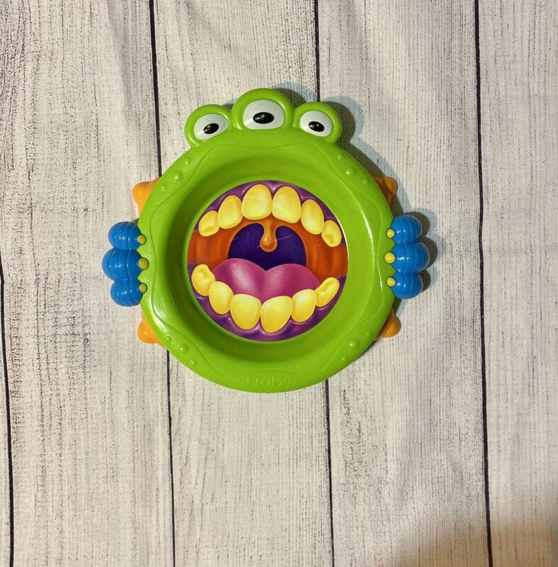 Nuby Baby Toddler Monster Feeding Eating Imonster Plate