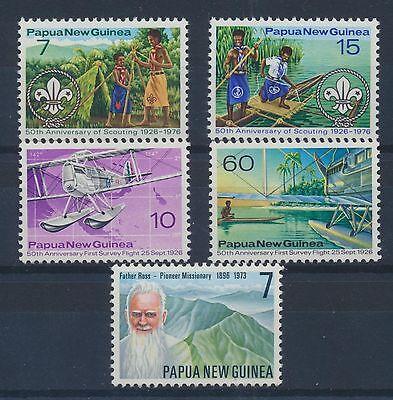 Papua-Neuguinea 310/11 + 312/13 postfrisch (1261) ..............................