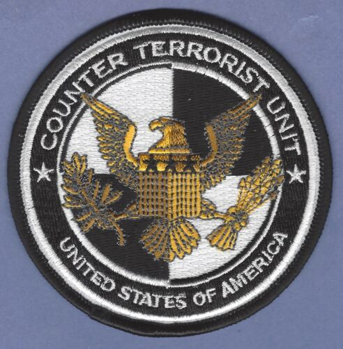 UNITED STATES COUNTER TERRORIST UNIT SHOULDER PATCH