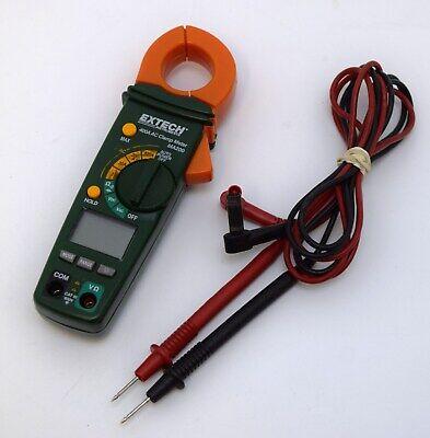 Extech True Rms Multimeter 430 Clamp Meter Ma200 Volt Detector 5-3