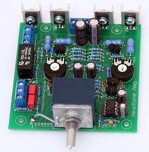 Tubeland High End Headfone Amp 1000mW 16 – 600 Ohm, mit AlPS Blue Poti - Bausatz