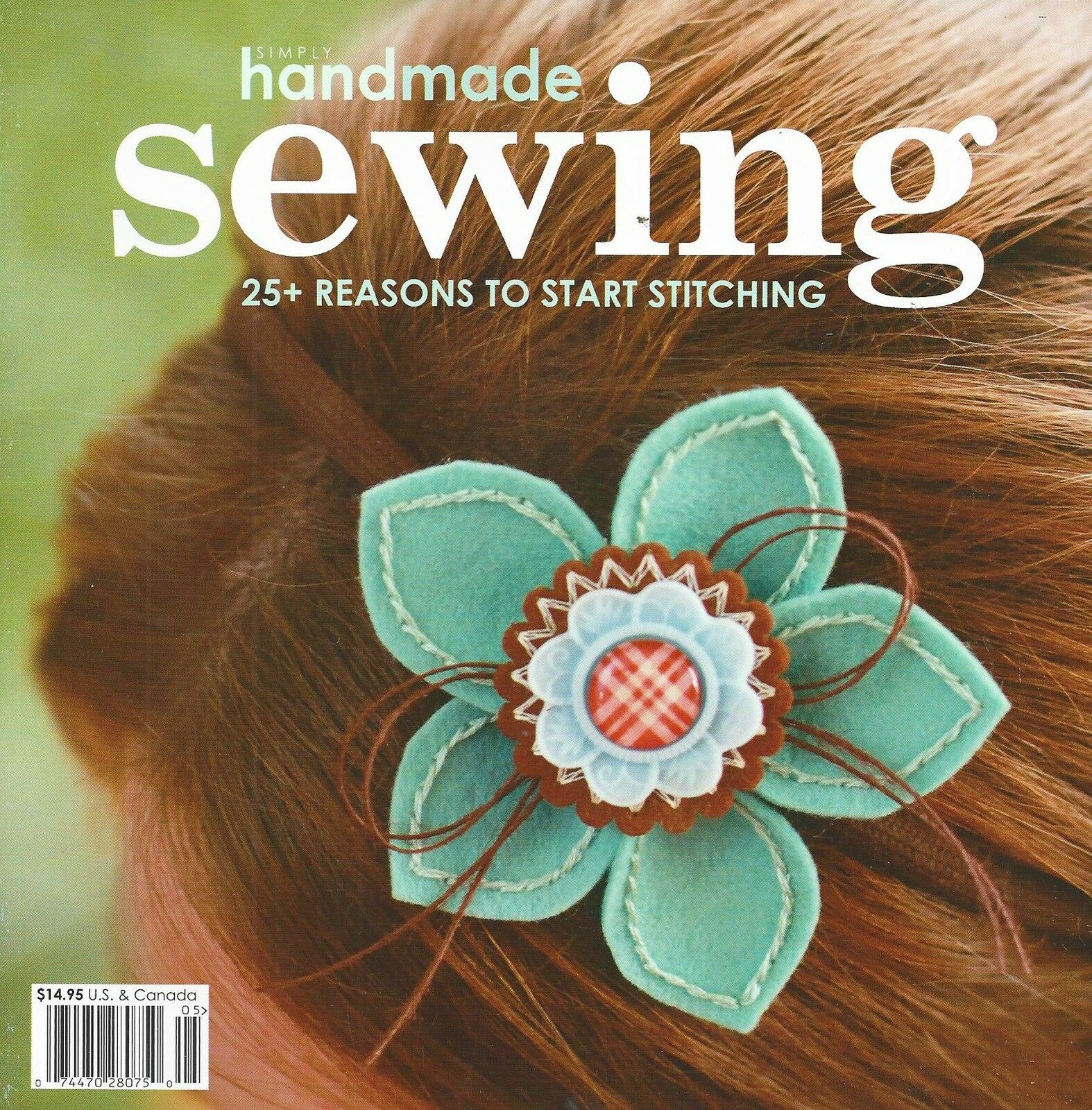 как выглядит SIMPLY HANDMADE SEWING  Idea Book by Northridge Publishing VOL.9 3 фото
