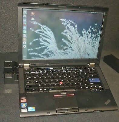 Lenovo ThinkPad T410 Laptop Intel Core i5 M-520 2.4GHz 4GB Docking Station