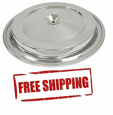 Chrome Corvette Air Cleaner Lid Cover O-Ring Rubber Seal Included New 76-81