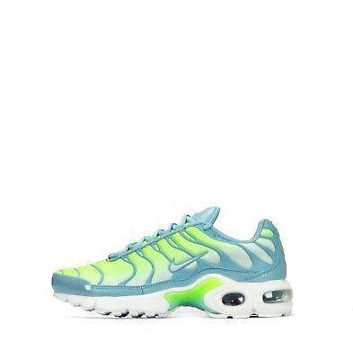 Juniors Unisex Nike Air Max Plus TN White Green (GS) 718071 400 UK 5.5 EU 38.5