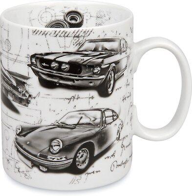 Jumbobecher Automotive Legends – Sporty, Porsche, Tasse, Kaffeepott, Könitz