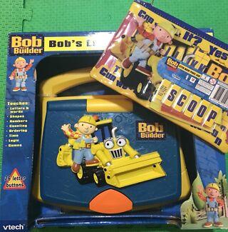 Bob the Builder laptop and pencil case