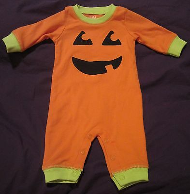 NEW My Baby's 1st First Halloween Pumpkin Costume with or w/o Bib Newborn Size - Baby's First Halloween Costume
