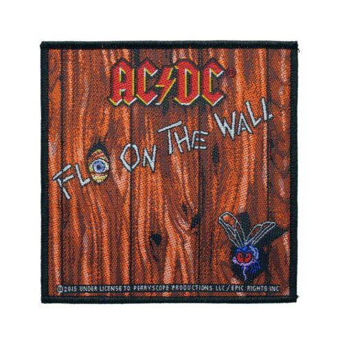 AC/DC Fly On The Wall Woven Sew On Battle Jacket Patch - Licensed 090