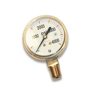 Us Forge 08030 Victor Style High Pressure Gauge For Oxygen Regulators 0-4000 ...
