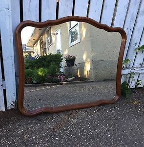 French Provincial Dresser Mirror