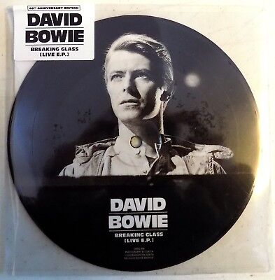 Breaking Glass - David Bowie - Breaking Glass (Live E.P.) - 2018 - UK - 7