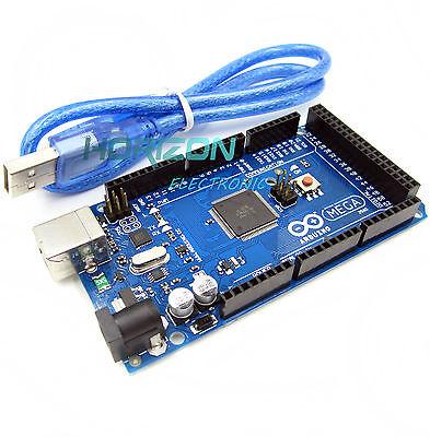 Mega 2560 Atmega2560-16au Board Arduino-compatible Usb Cable Funduino