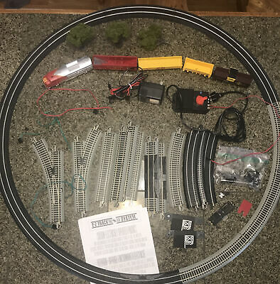 ☄️Bachman Santa Fe Flyer Electric Train Set #00647? + Lots Of Extras UNTESTED*