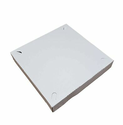 Small Pizza Box 10 X 10 X 1.50 Automatic Clay Coated 15 Pieces