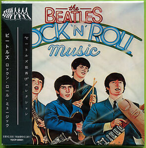 The Beatles ROCK 'n' ROLL MUSIC 28-trk mini LP Japan CD Sealed w/OBI John Lennon