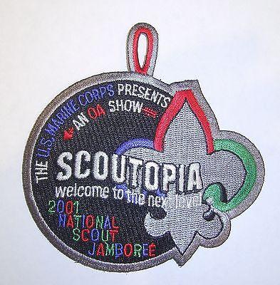 2001 National Jamboree Scoutopia Patch Mint CC4