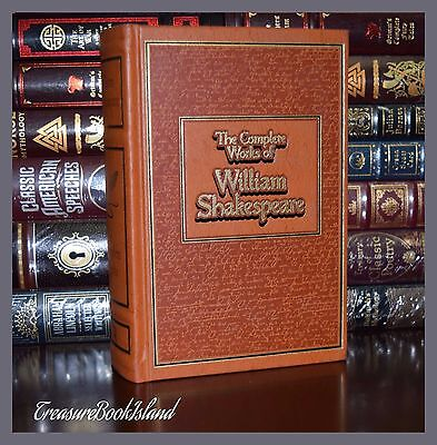 Complete Works of William Shakespeare New Deluxe Ribbon Leather Bound
