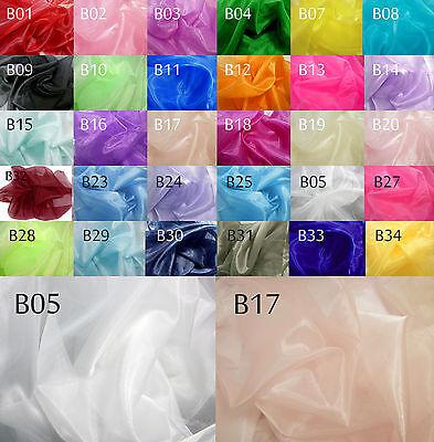 - Bxx Thick Sparkle Crystal Organza Sheer Fabric Bridal dress Decorative Material