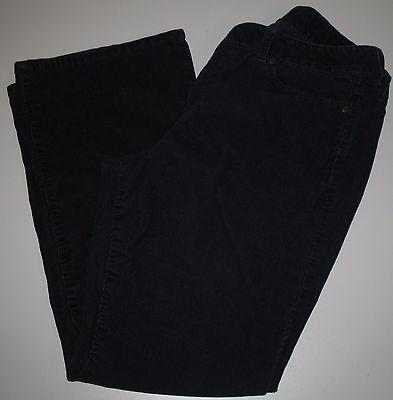 Talbots Corduroy Pants Curvy Fit Stretch Bootcut Blue Cord Petites Womens 12P - Fit Bootcut Cord